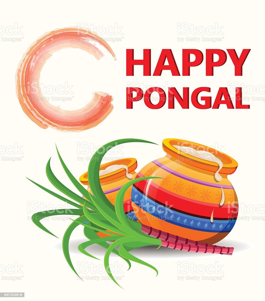 Happy pongal greeting card on white background makar sankranti stock happy pongal greeting card on white background makar sankranti royalty free happy pongal m4hsunfo
