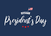 Happy President's Day card, poster, background. Vector illustration. EPS10