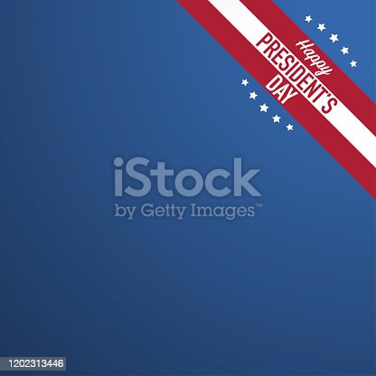 happy president's day poster banner design template vector