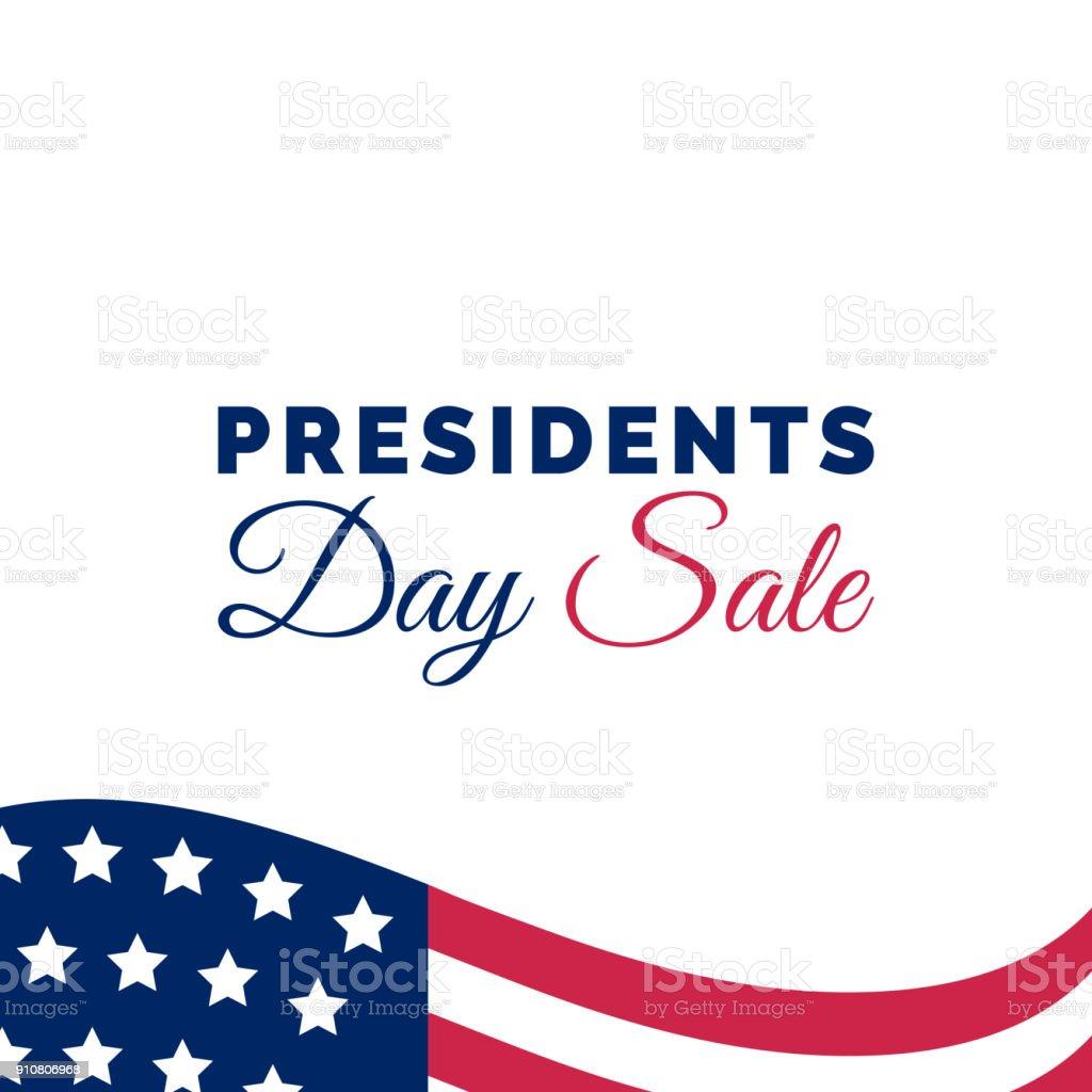 President S Day Sale: Happy Presidents Day Sale Handwritten Phrase In Vector