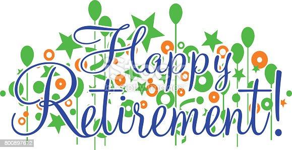 happy retirement banner or sign stock vector art  u0026 more