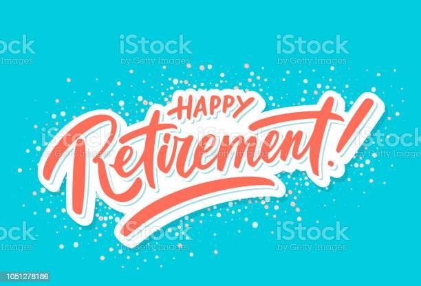 Happy Retirement Party Invitation - Arte vetorial de stock e mais imagens de Cartão de Saudações