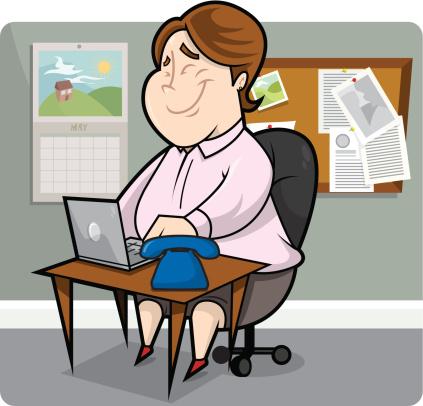 Happy Secretary
