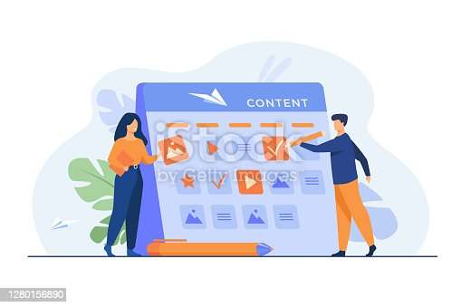 istock Happy SEO planning campaign for social media 1280156890