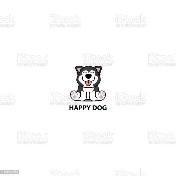 Happy siberian husky dog sitting cartoon icon logo design vector vector id999382954?b=1&k=6&m=999382954&s=612x612&h=lmuwz2m6mc6vl6ar gfohpjkd lsja56gdqalvjh1as=