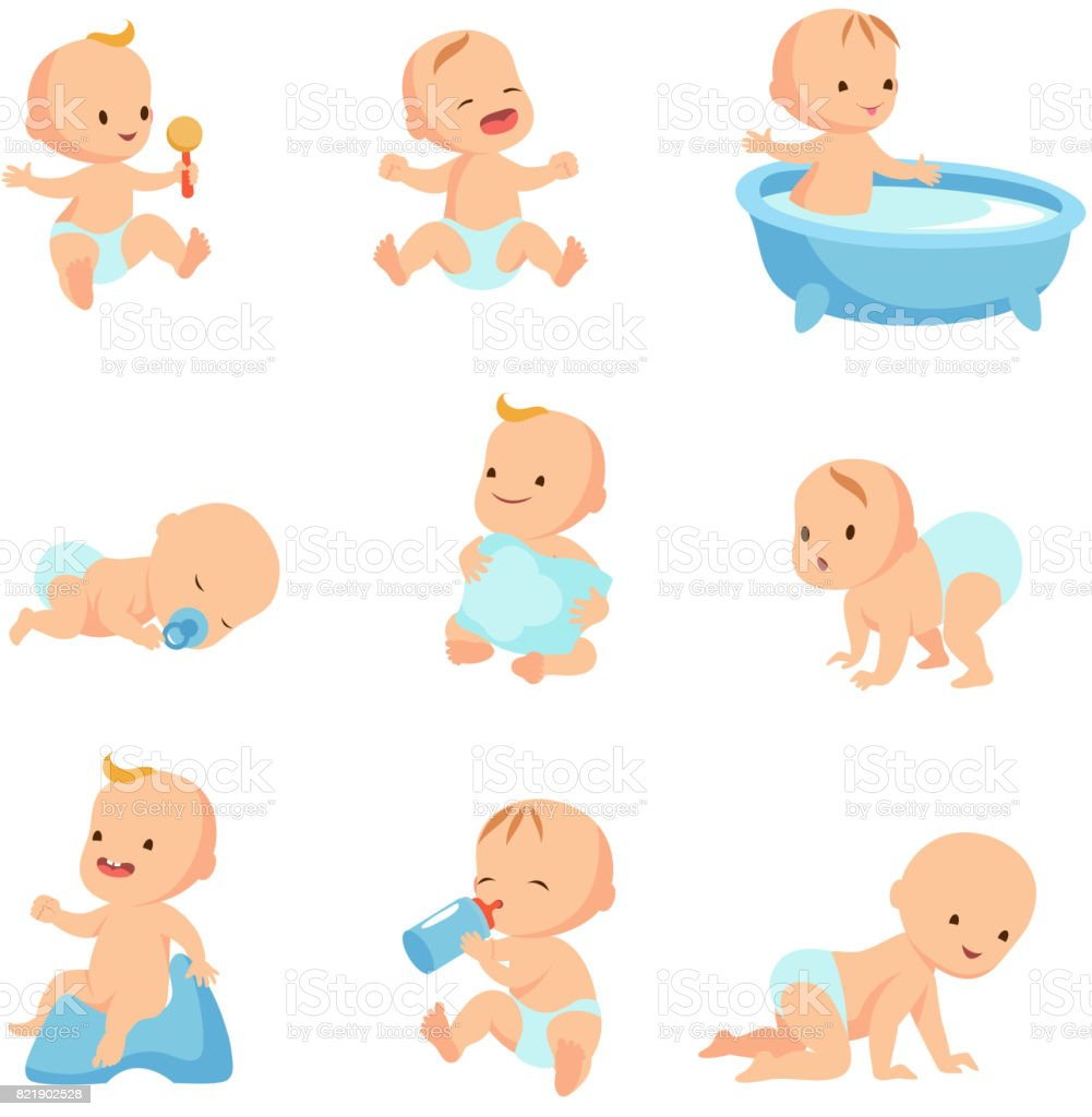 royalty free babies clip art vector images illustrations istock rh istockphoto com clip art babies images clipart babysitting