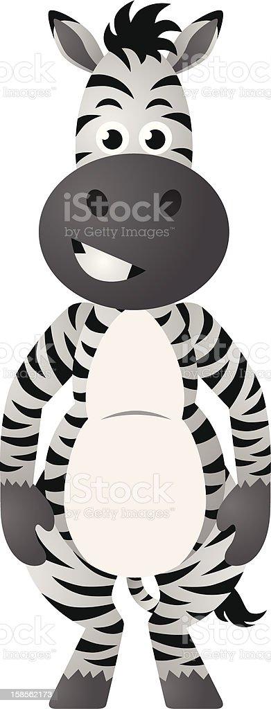 행복함, 웃는 Zebra royalty-free 행복함 웃는 zebra 검정에 대한 스톡 벡터 아트 및 기타 이미지