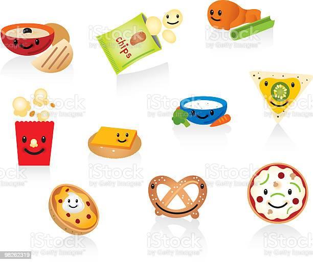 Happy snacks vector id98262319?b=1&k=6&m=98262319&s=612x612&h=qnqbtqcvxnnqurm zn vamvc3eyyhnyu  r426qucyg=