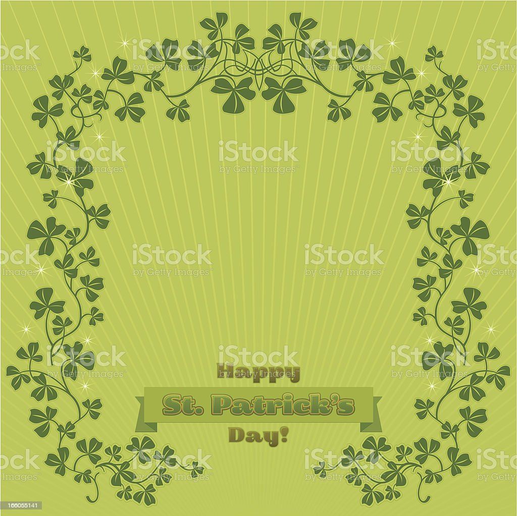 Happy St. Patrick's Day! royalty-free happy st patricks day stock vector art & more images of backgrounds
