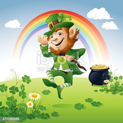 istock Happy St. Patrick's Day 472280335
