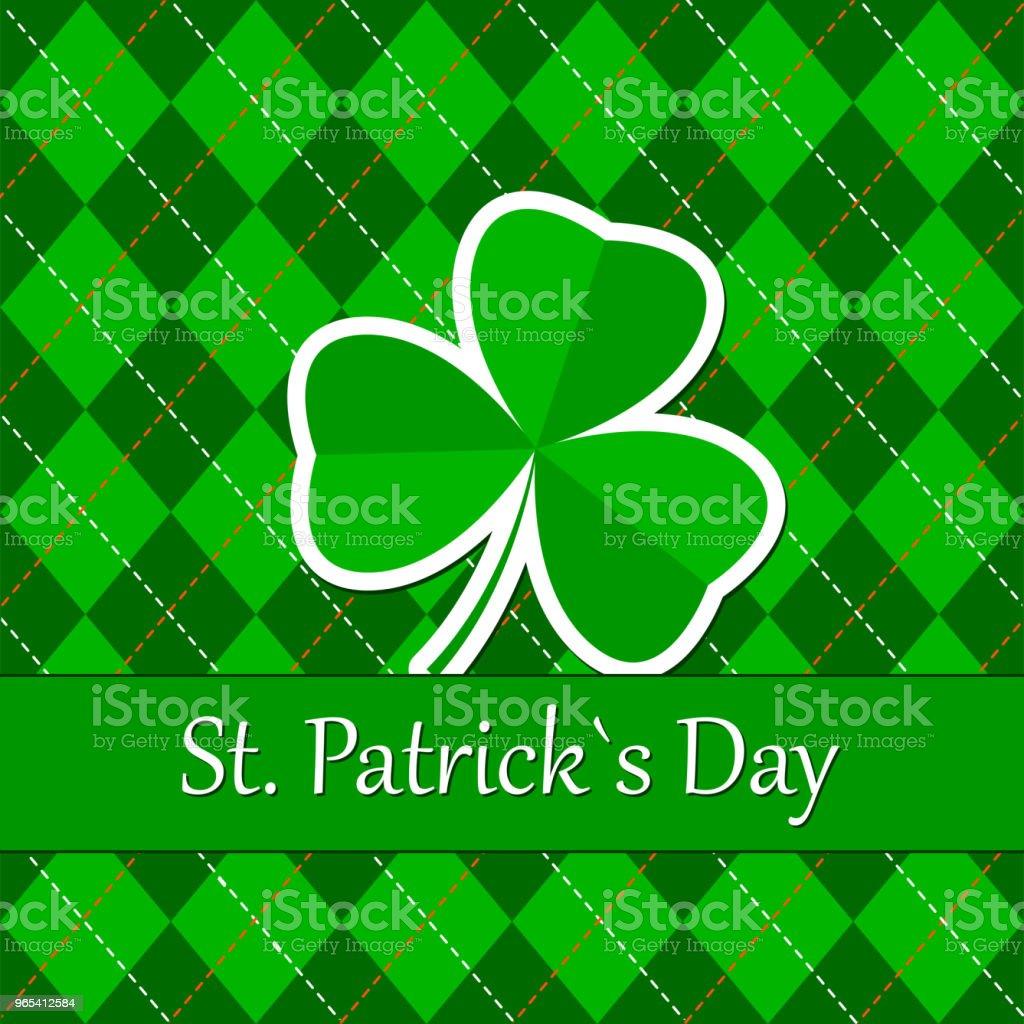 happy St. Patrick's day happy st patricks day - stockowe grafiki wektorowe i więcej obrazów białe tło royalty-free