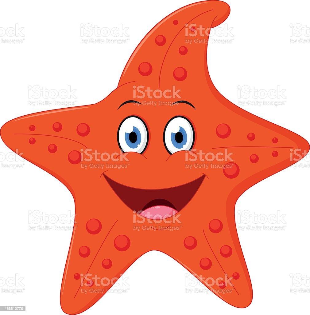 Happy Starfish Cartoon Stock Vector Art & More Images of 2015 ...