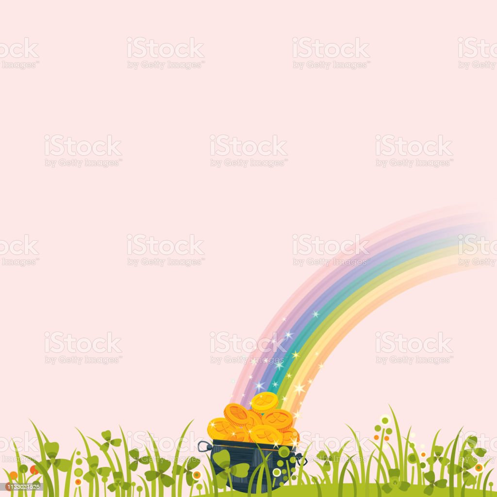 Happy St.Patrick's Day! - Royalty-free Backgrounds stock vector