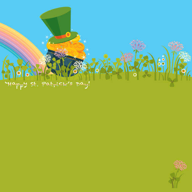 Happy St.Patrick's Day! vector art illustration