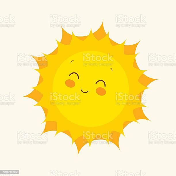 Happy sun icon vector illustration vector id530210568?b=1&k=6&m=530210568&s=612x612&h=k9xzpmen5yxdbl3uf0 zdhg9m zvibmdgja6zlitirs=