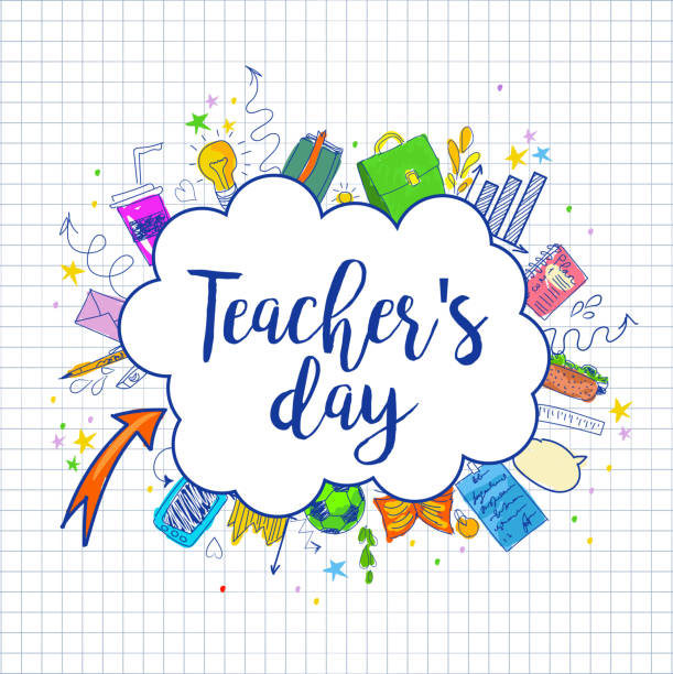 Royalty Free Teachers Day Clip Art, Vector Images ...