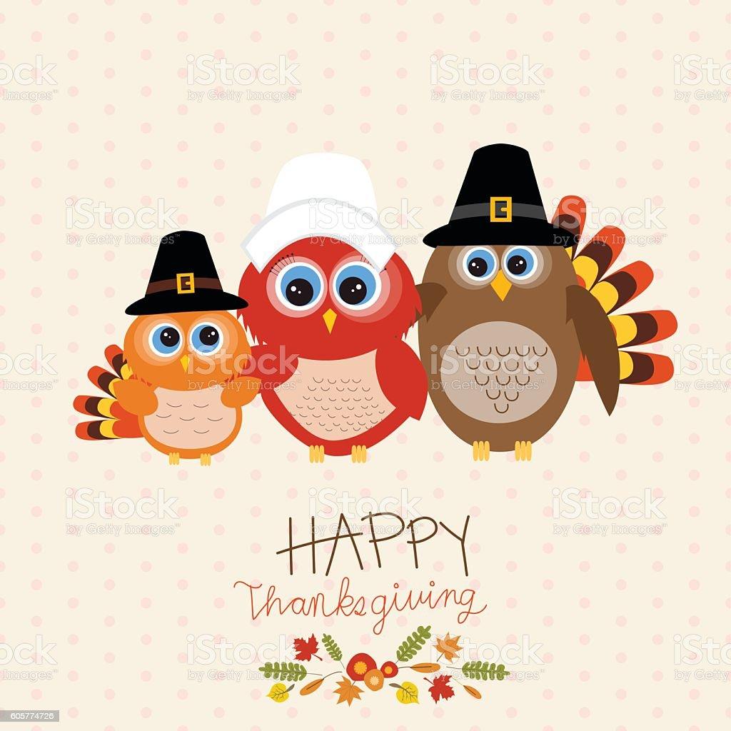 Happy Thanks giving vector. illustration EPS10. vector art illustration