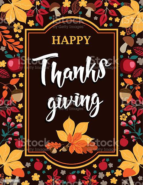 Happy thanksgiving autumn background with leaves mushrooms and apples vector id597928946?b=1&k=6&m=597928946&s=612x612&h=ewpwsaqeii5qfh5egvjiikmisv1ewzeip gox929lpy=