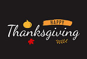 Happy Thanksgiving background card. Vector illustration. EPS10