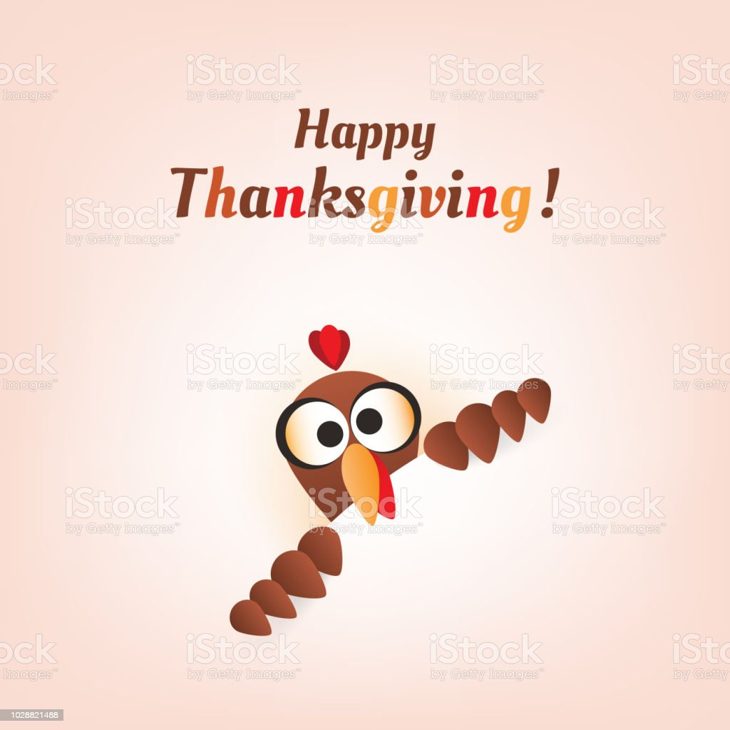 happy thanksgiving card design template stock vector art more