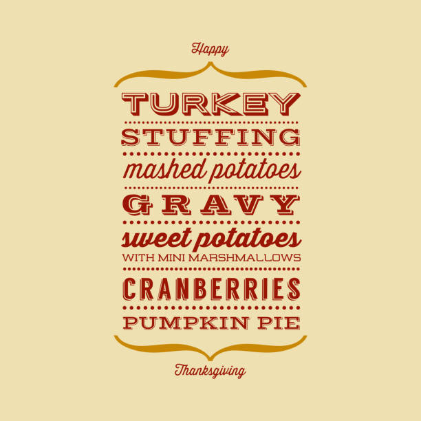 Best Turkey Dinner Illustrations, Royalty-Free Vector