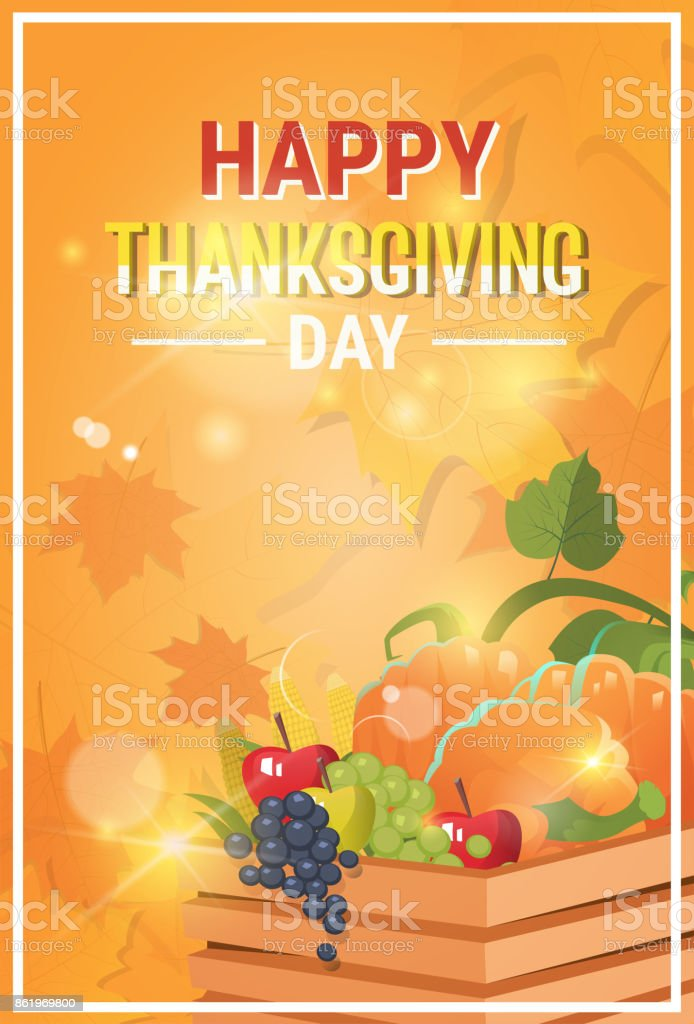 Happy thanksgiving day autumn traditional holiday greeting card happy thanksgiving day autumn traditional holiday greeting card royalty free happy thanksgiving day autumn traditional m4hsunfo