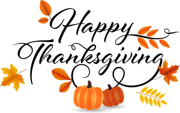 愉快的感恩節裝飾 - happy thanksgiving 幅插畫檔、美工圖案、卡通及圖標