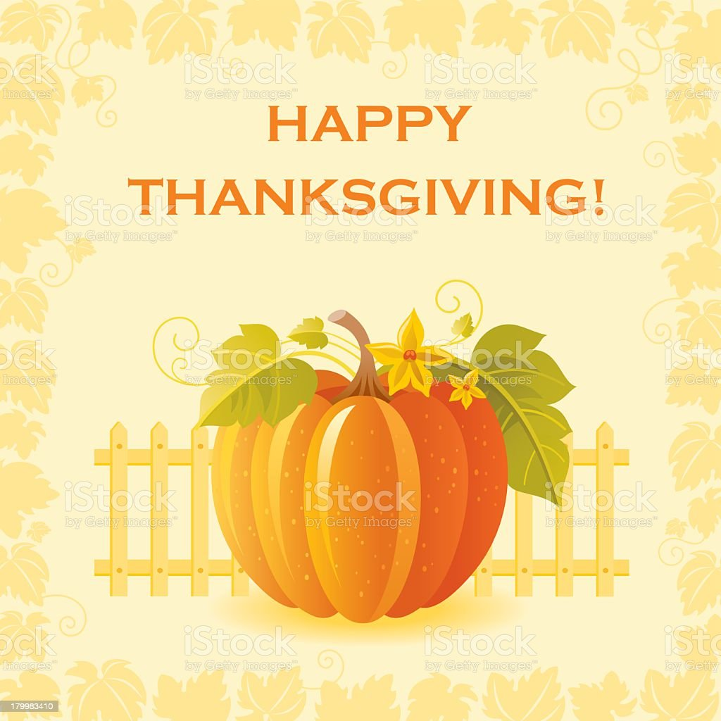 Happy thanksgiving: pumpkin royalty-free happy thanksgiving pumpkin stock vector art & more images of abstract