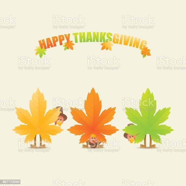 Happy thanksgiving turkeys disguised as maple leaves vector id667723340?b=1&k=6&m=667723340&s=612x612&h=pj1syzwddcnl1xja73 iiras6kalmokze0s1injpgpg=