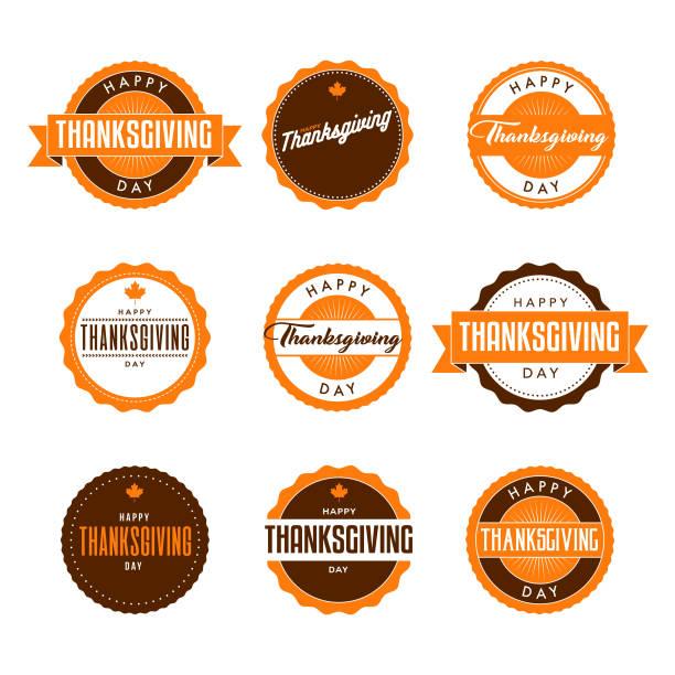 illustrazioni stock, clip art, cartoni animati e icone di tendenza di happy thanksgiving - tavola imbandita