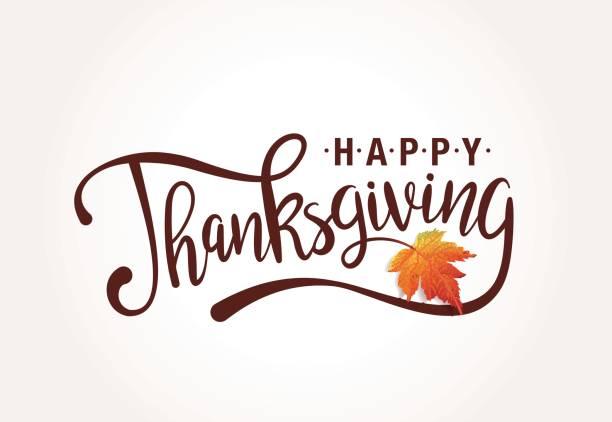 happy thanksgiving - thanksgiving stock illustrations