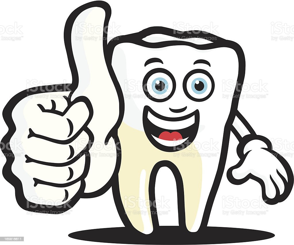 Happy Tooth royalty-free happy tooth stock vector art & more images of agreement