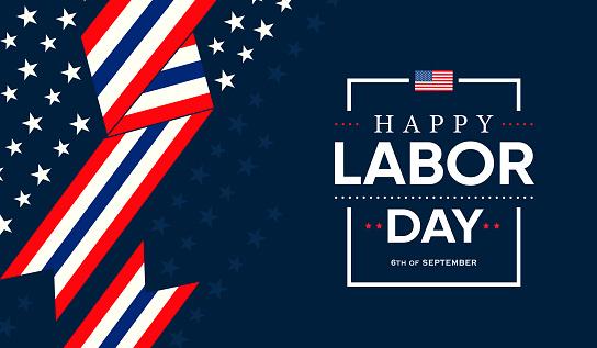 Happy US Labor Day Card