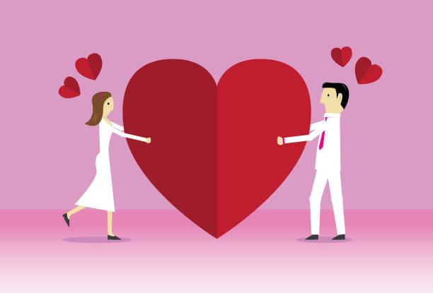 happy valentine - romance stock illustrations, clip art, cartoons, & icons