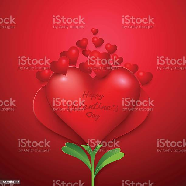 Happy valentines day background with heart shape flower vector id637665148?b=1&k=6&m=637665148&s=612x612&h=2zrrzcggbnrx0bs41ygziiuc 5dic ithkih4vrdfeg=