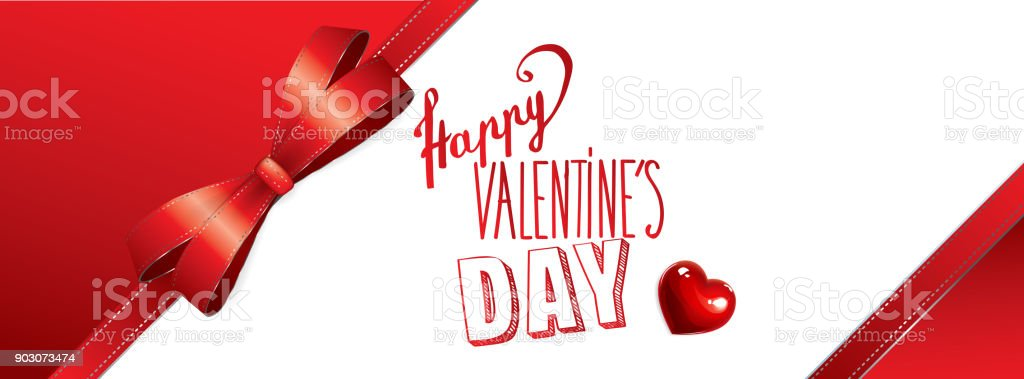 happy valentines day banner royalty free stock vector art
