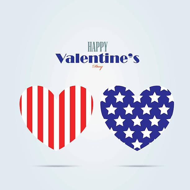 happy valentine's day card design vector art illustration