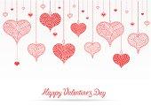 Happy Valentine's Day card  , EPS 10