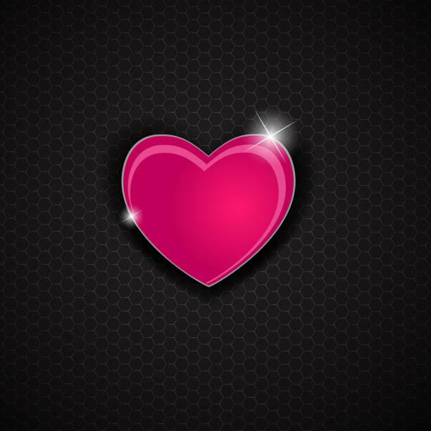 ilustraciones, imágenes clip art, dibujos animados e iconos de stock de feliz día de san valentín tarjeta con corazón. ilustración vectorial - sparks
