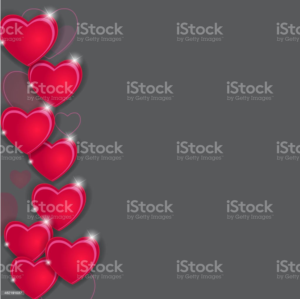 Happy Valentines Day card with heart. Vector illustration royalty-free happy valentines day card with heart vector illustration stock vector art & more images of abstract