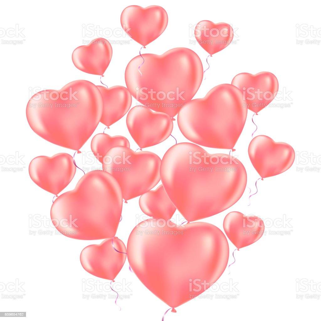 Ilustración De Feliz Celebración Del Día De San Valentín