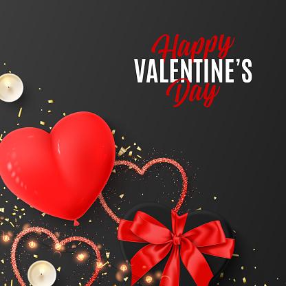 Happy Valentine's Day festive card