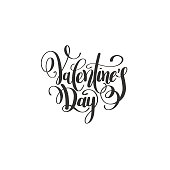 happy valentines day handwritten lettering holiday design to gre