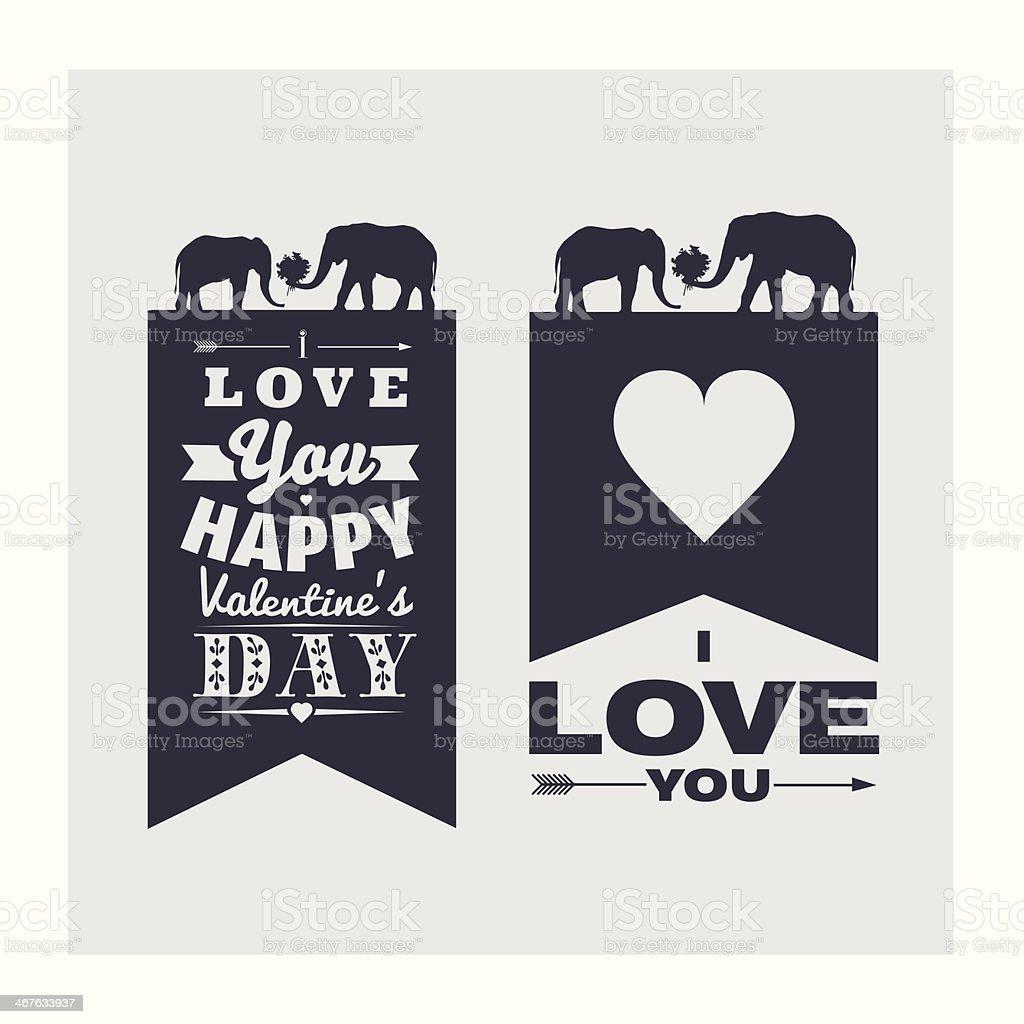 Feliz Dia Dos Namorados I Love Youfrase Em Inglês Arte Vetorial De