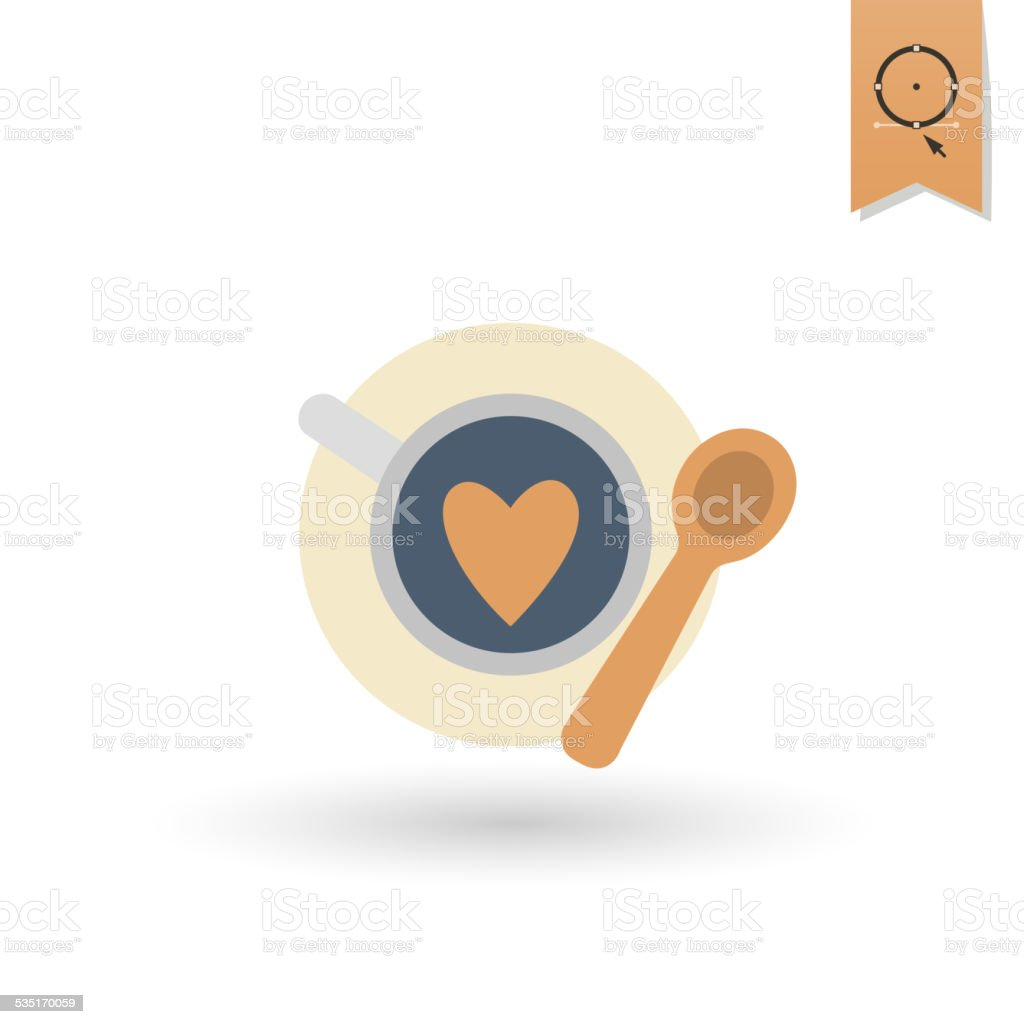 Happy Valentines Day Icon Stock Vector Art More Images Of 2015