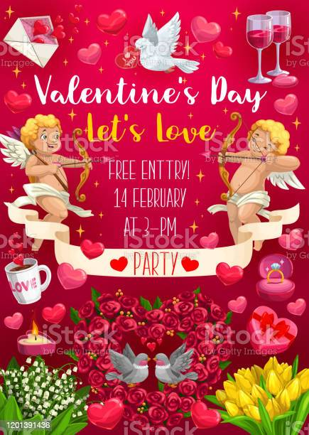 Happy valentines day love party celebration event vector id1201391436?b=1&k=6&m=1201391436&s=612x612&h=sf5fos3bsejfconbdi jvkoxf0slweaznsvceb ayeg=
