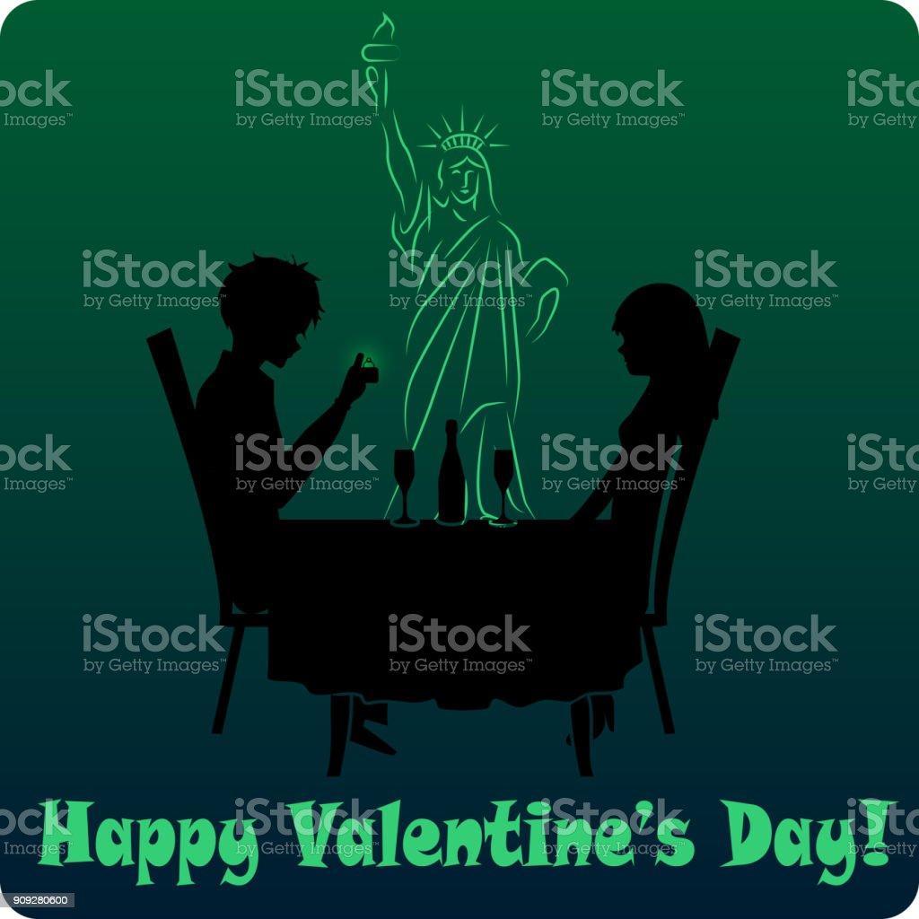 Valentinstag in den usa