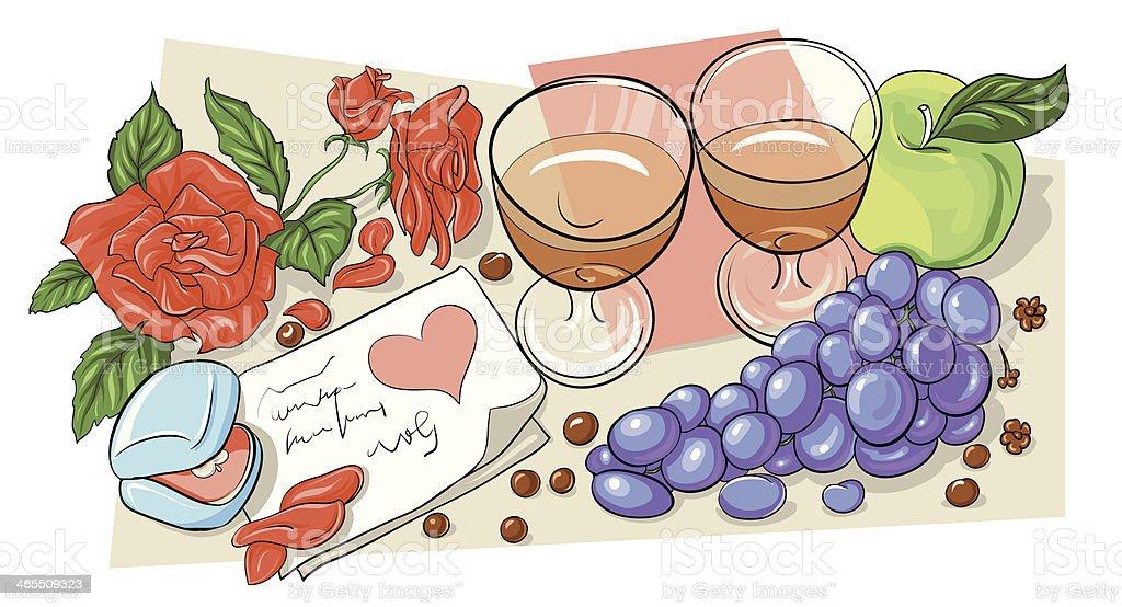 Happy Valentine's Day! royalty-free stock vector art