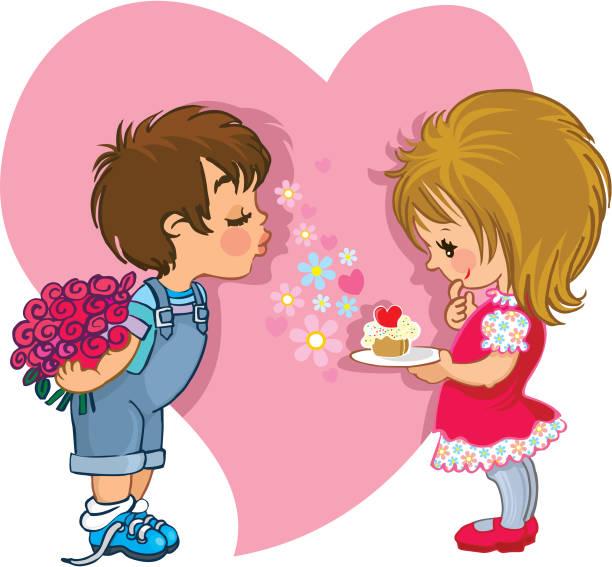 happy valentine's day - swag stock-grafiken, -clipart, -cartoons und -symbole