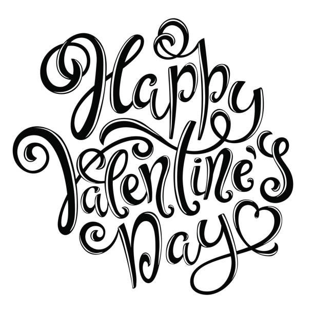happy valentines day - leap year stock illustrations, clip art, cartoons, & icons